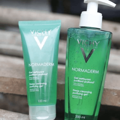 Sữa rửa mặt ngăn ngừa mụn Vichy Normaderm Deep Cleansing Purifying Gel