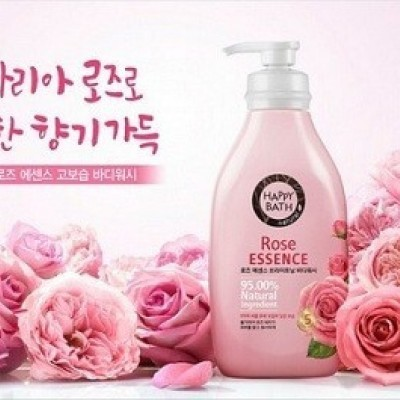 Sữa Tắm Happy Bath Natural Rose Essence